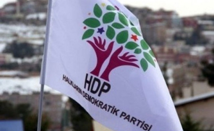 HDP il binasına operasyon!
