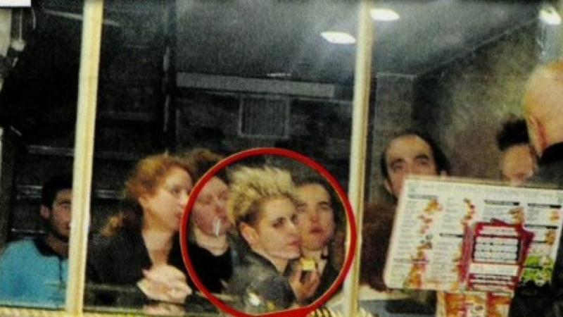 Kristen Stewart, Karadeniz lokantasına gitti