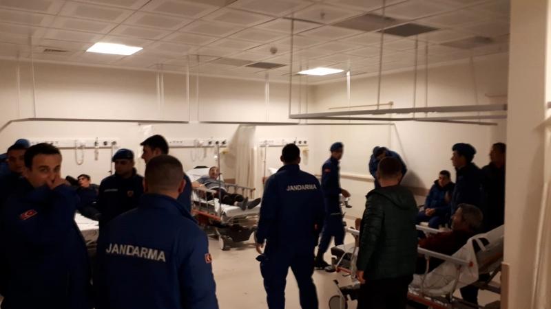 57 mahkum, zehirlenme şüphesiyle hastaneye kaldırıldı